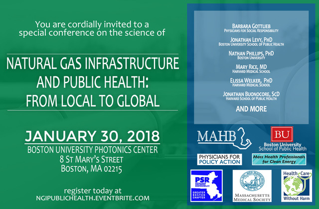 NGI and Public Health Conference - Boston University 1-30-2018