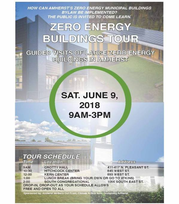 Zero Energy Bldg Tour - Amherst