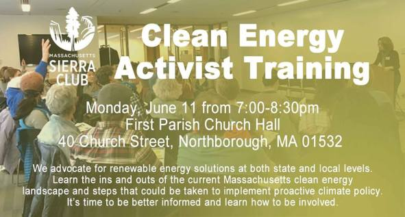 Climate Activist Training 11-June