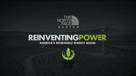 Reinventing Power - North Face - Sierra Club