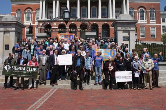Emergency Climate Rally - Boston