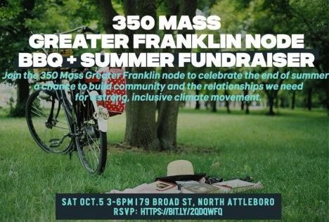 350MA BBQ Fundraiser