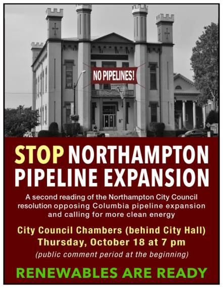Stop NoHo Pipeline Expansion 10-18-18