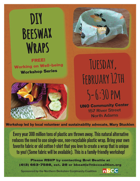 beeswax wraps flyer