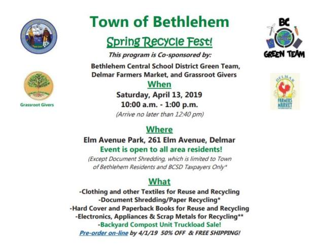 Spring Recycle Fest