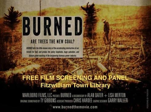 burned - Fitzwilliam Library