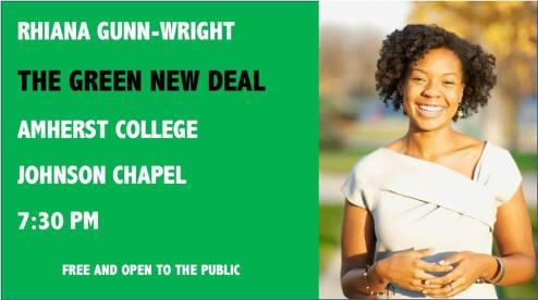 Rhiana G-W at Amherst College