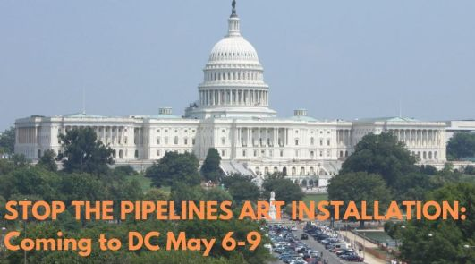 Stop Pipelines DC Art