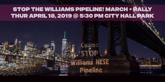 Stop the Williams Pipeline