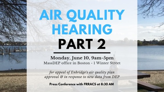 Air Qual Hearing - Weymouth