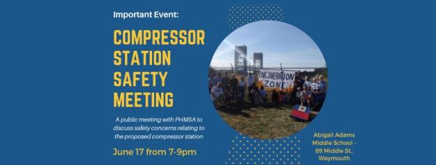 compressor safety meeting - weymouth