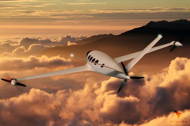 Alice electric airplane