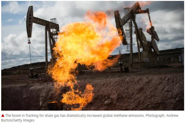 Fracking methane boom