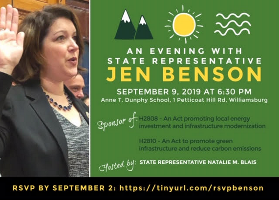 Jen Benson talk
