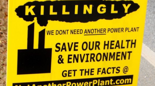 Killingly gas pwr plant protest