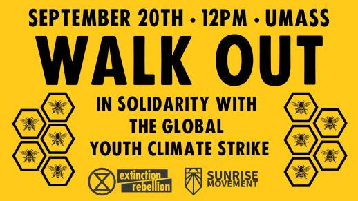 walk out for climate