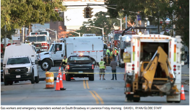 Lawrence gas leak