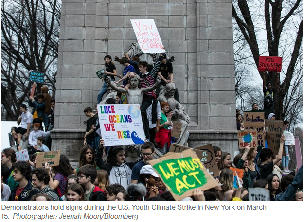 youth climate strike - March 2019
