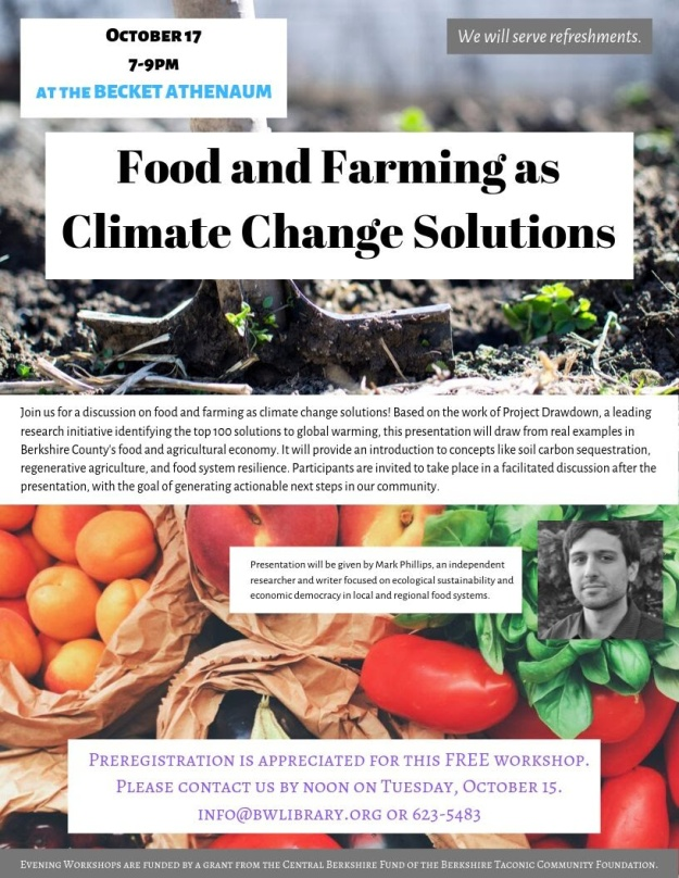 Food and Farming as Climate Change Solution