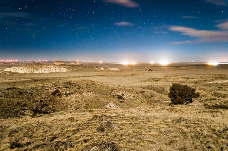 fracking peak