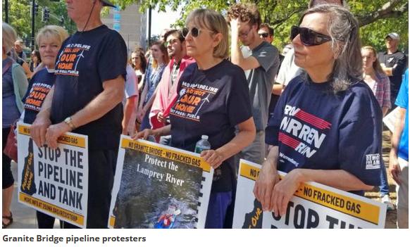 Granite Bridge pipeline protesters