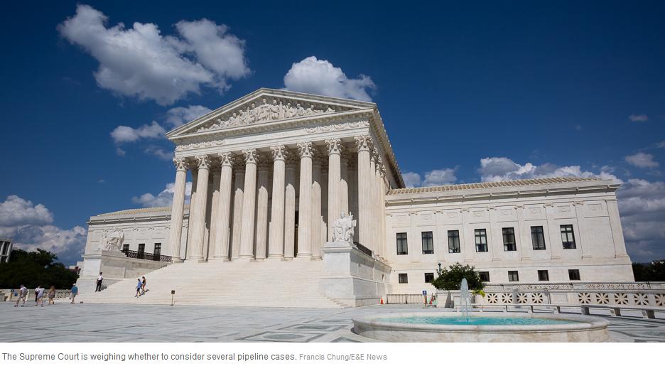 Supreme Court - pipelines