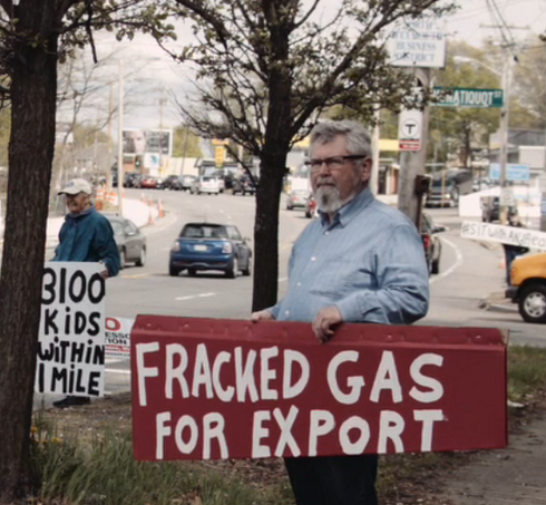fracked gas for export