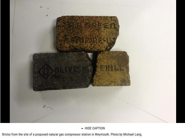 bricks and asbestos