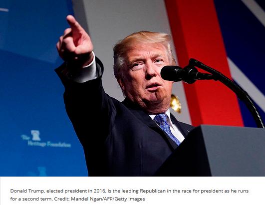 Candidate Trump