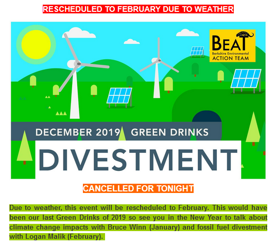 Divestment rescheduled