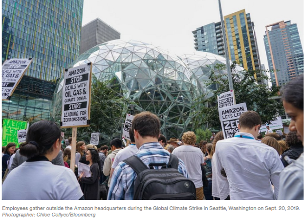 Amazon climate clampdown