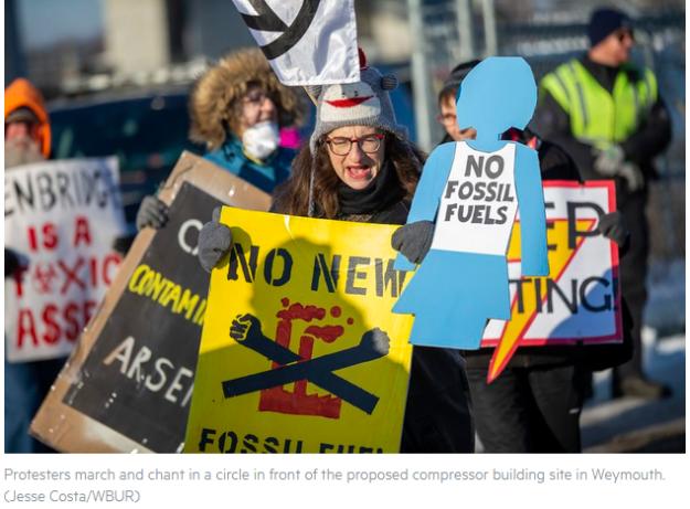 compressor protesters 2019