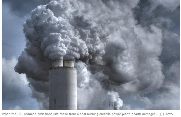 emissions-health correlation