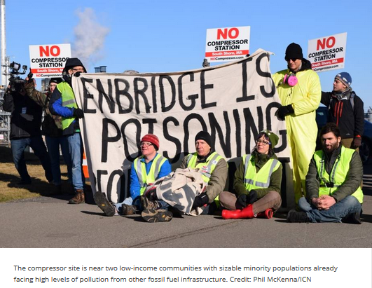 Enbridge poisoning Fore River