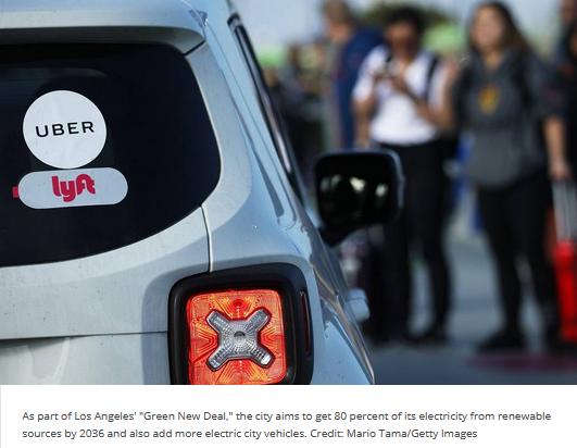 EV Uber for LA