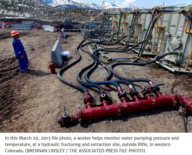 fracking Canada
