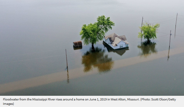 Missouri floodwater