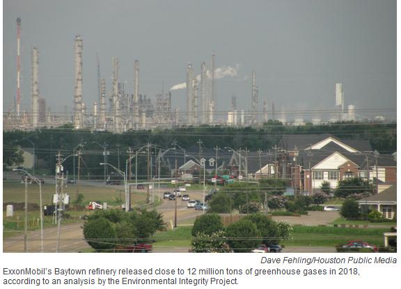 petro industry emissions