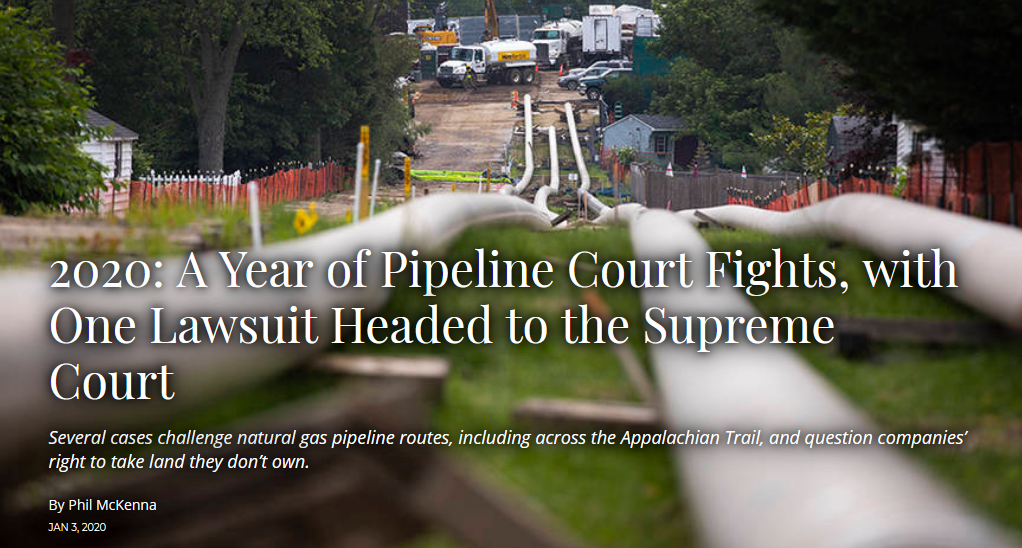 pipelines in court