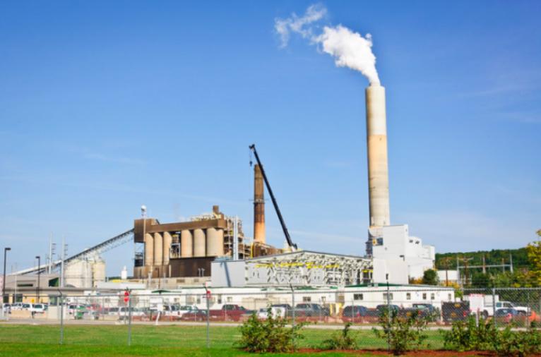 protest coal plant