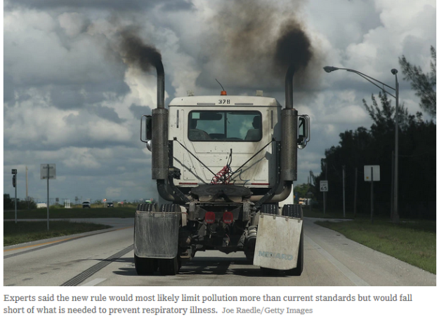 truck pollution regs