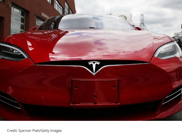 Tesla approaching 400