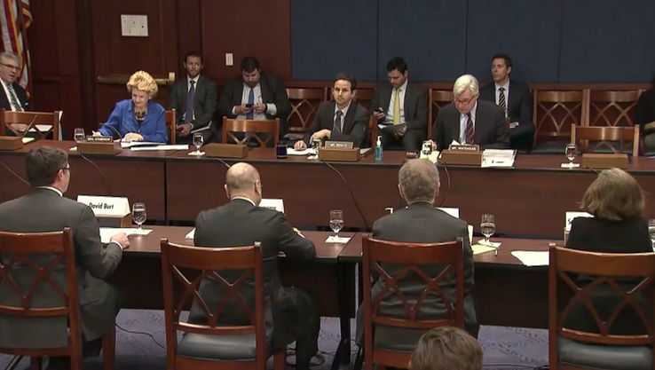 Senate hearing on climate threat to econ
