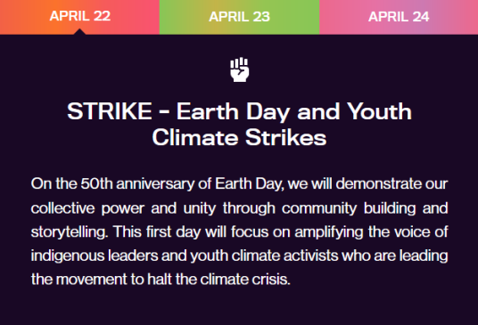 Earth Day Live 1