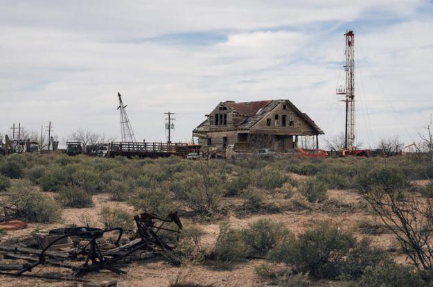 Texas oil war