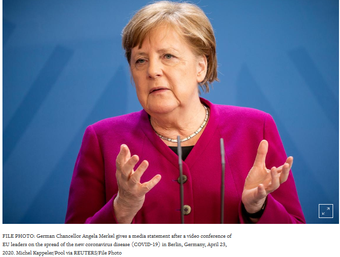 Merkel wants green recovery
