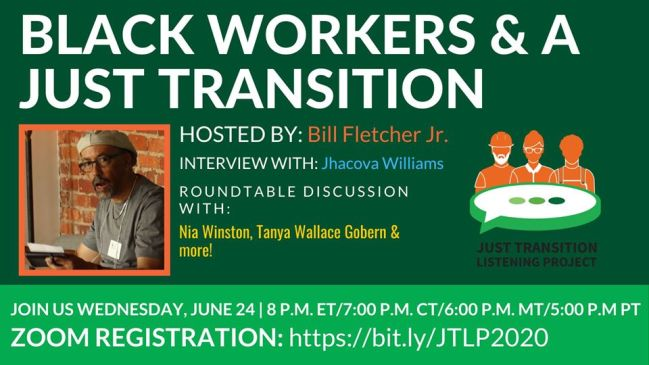 black workers and a just transition