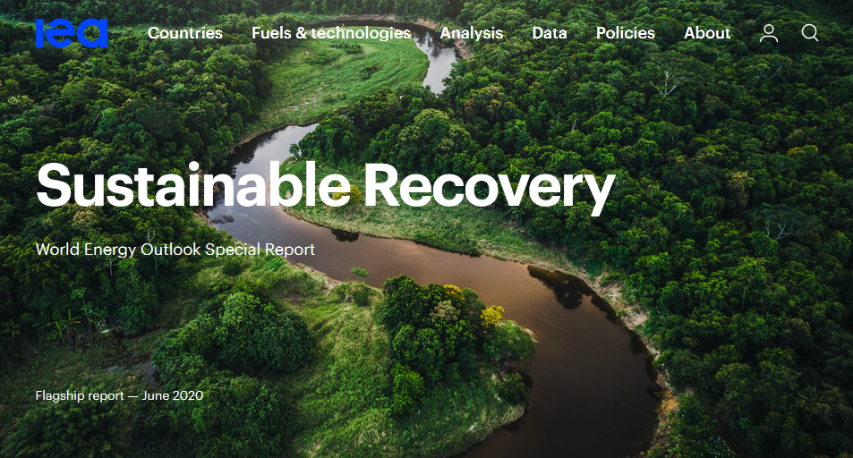 IEA sustainable recovery
