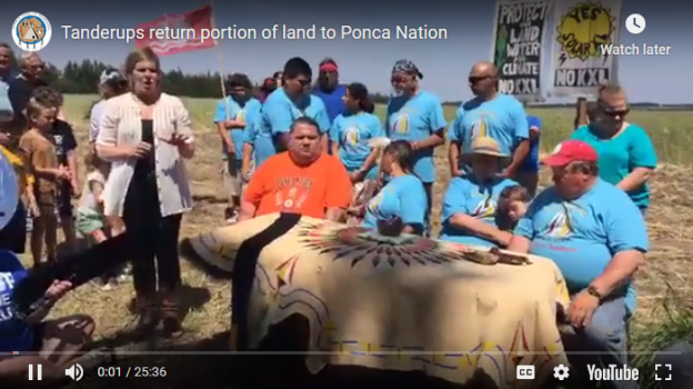 Ponca land acquisition