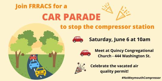 Quincy car parade